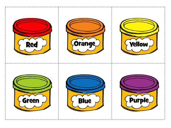 Container portal . Playdough clipart red