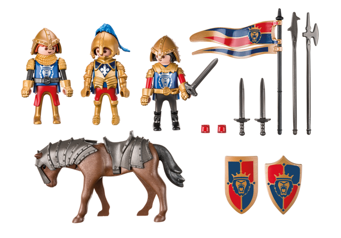 Playmobil royal lion knights. Playdough clipart silly putty