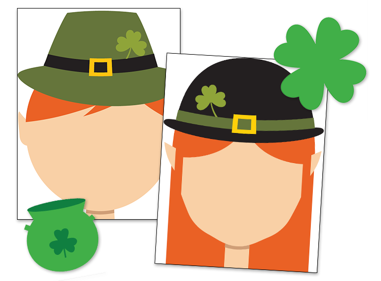 Printables st patrick s. Playdough clipart transparent