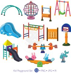 Equipment clip art free. Playground clipart