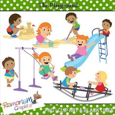 Playground clipart. The best images on