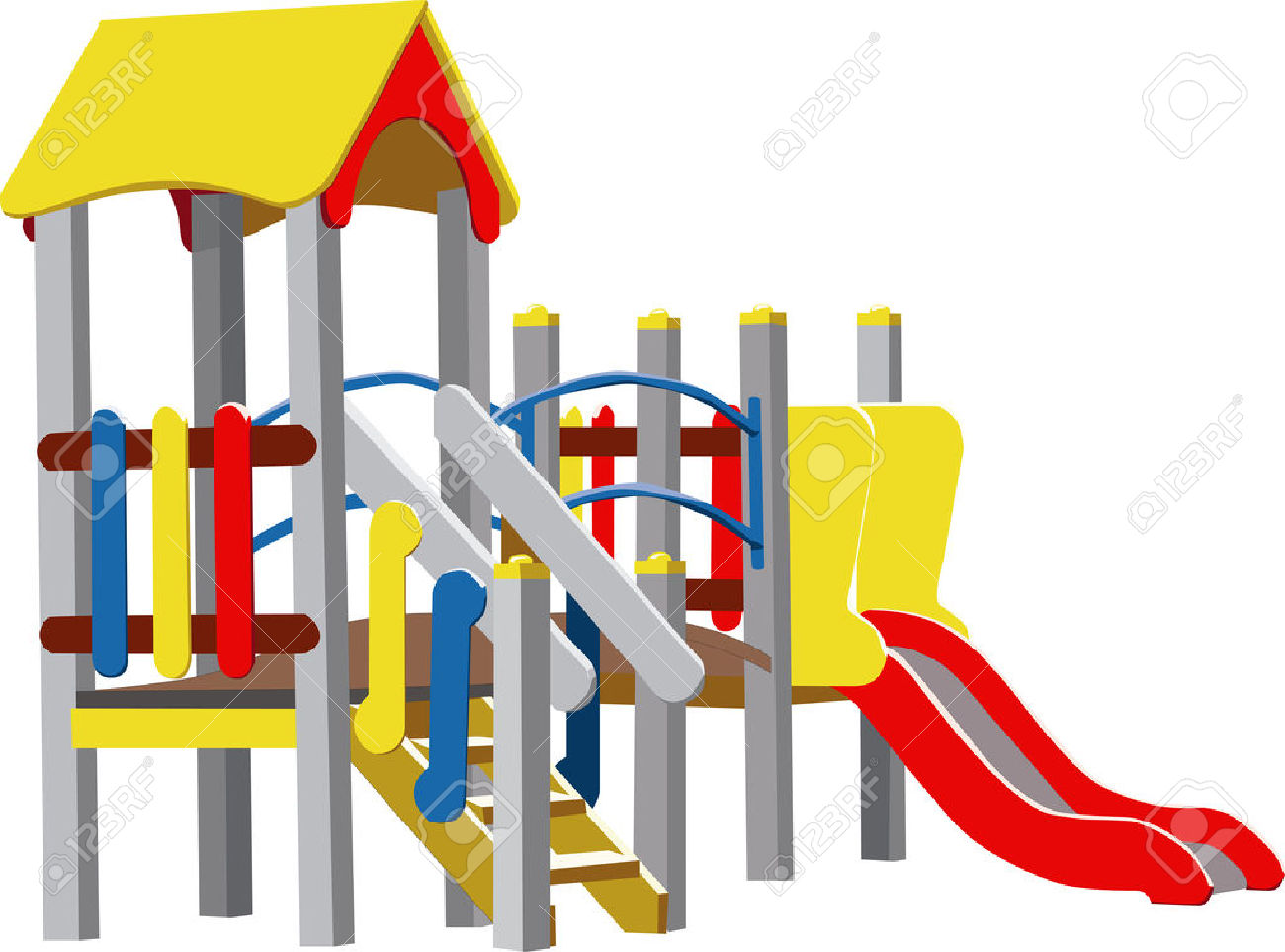 Preschool . Playground clipart