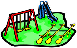 Playground clipart. Clip art school panda