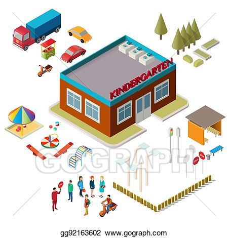 Vector stock icons of. Scale clipart kindergarten