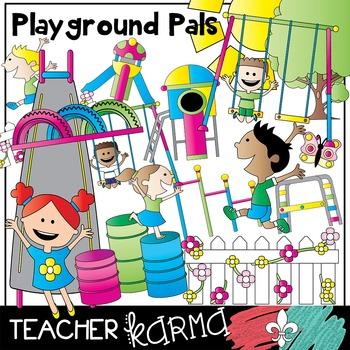 Playground clipart classroom. Park pals kids
