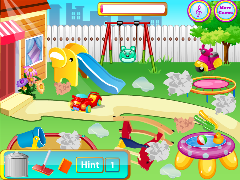 Playground clipart clean playground.