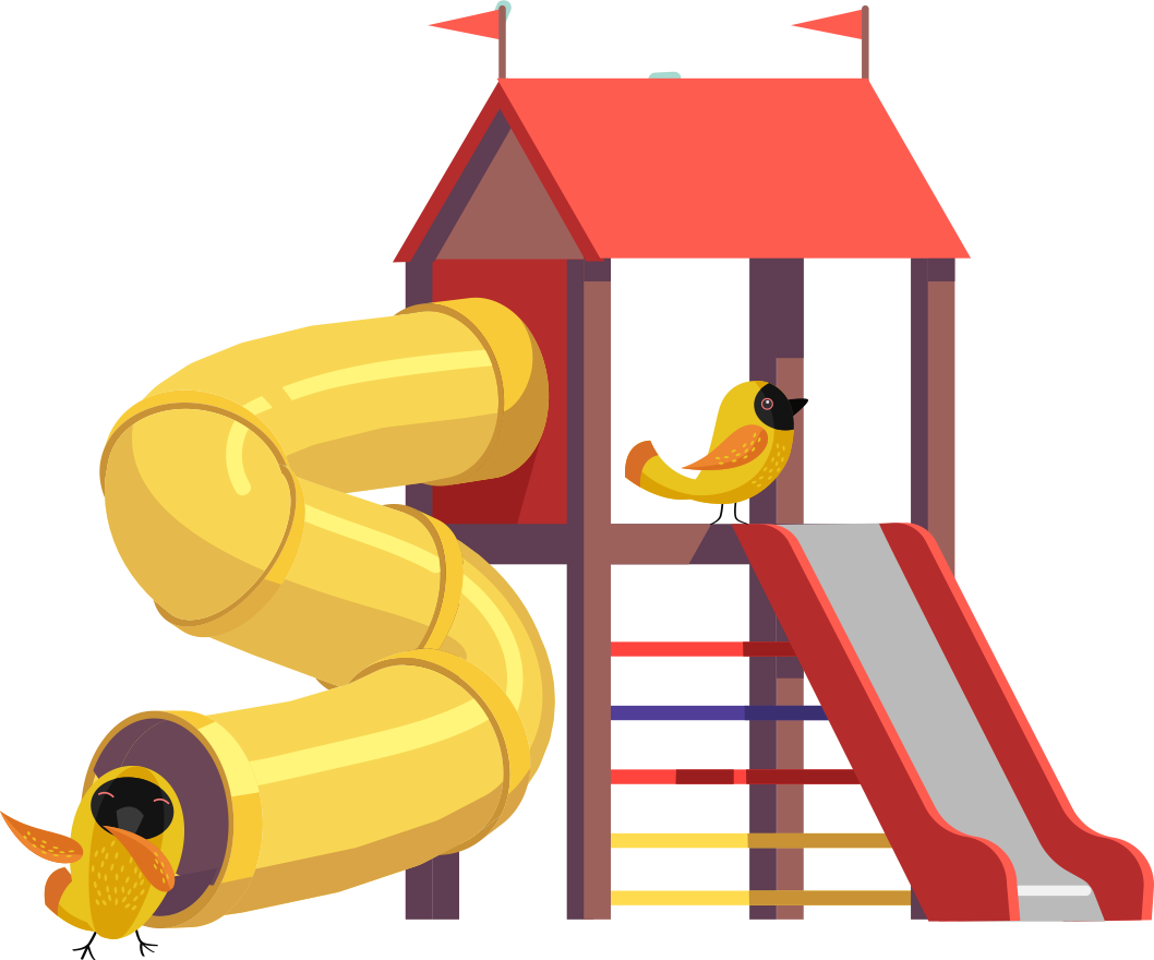 The weavers home know. Preschool clipart playground
