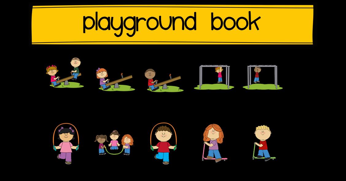 Efl elementary teachers recess. Playground clipart small park