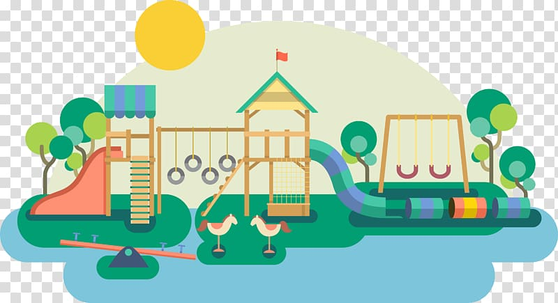Recreational facilities for children. Playground clipart toy