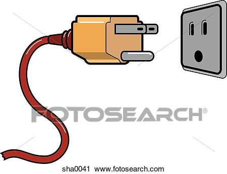 Electrical clipart receptacle. Plug station