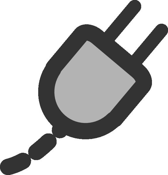 plug clipart broken
