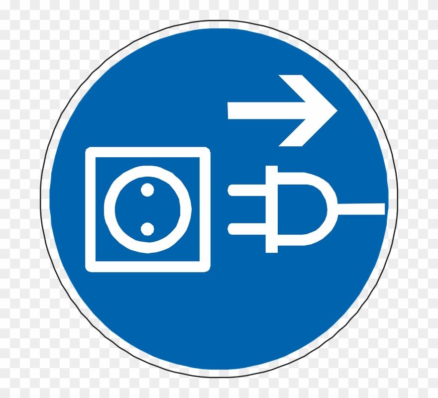 Desenchufar png . Plug clipart current electricity
