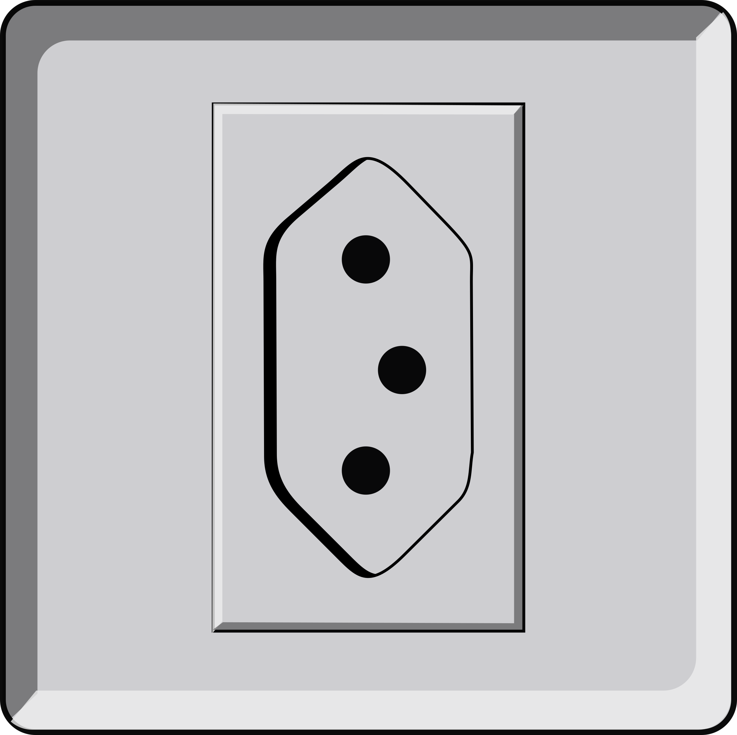 Plug clipart extension. Tomada abnt wall socket