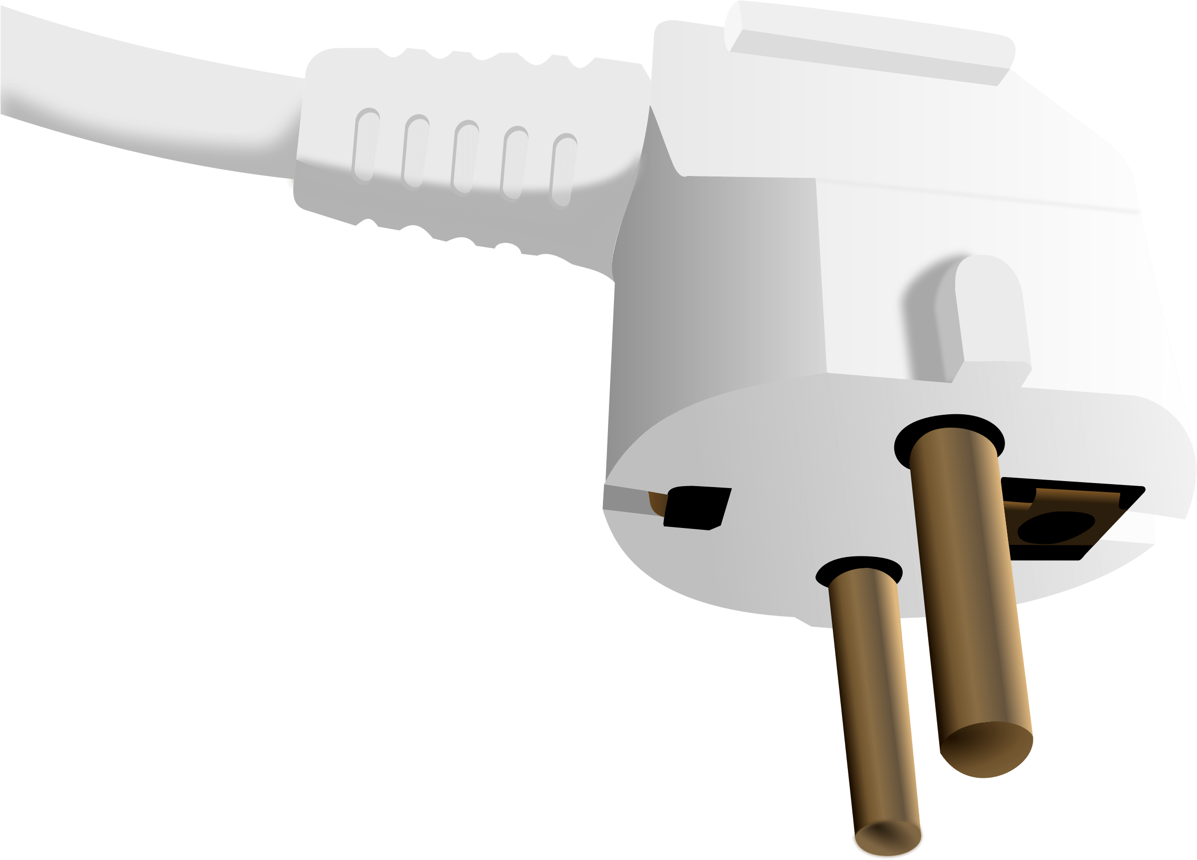 Hand unplugging plugs transparent. Plug clipart extension