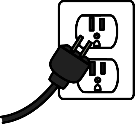 Plug clipart outlet. Cliparts zone