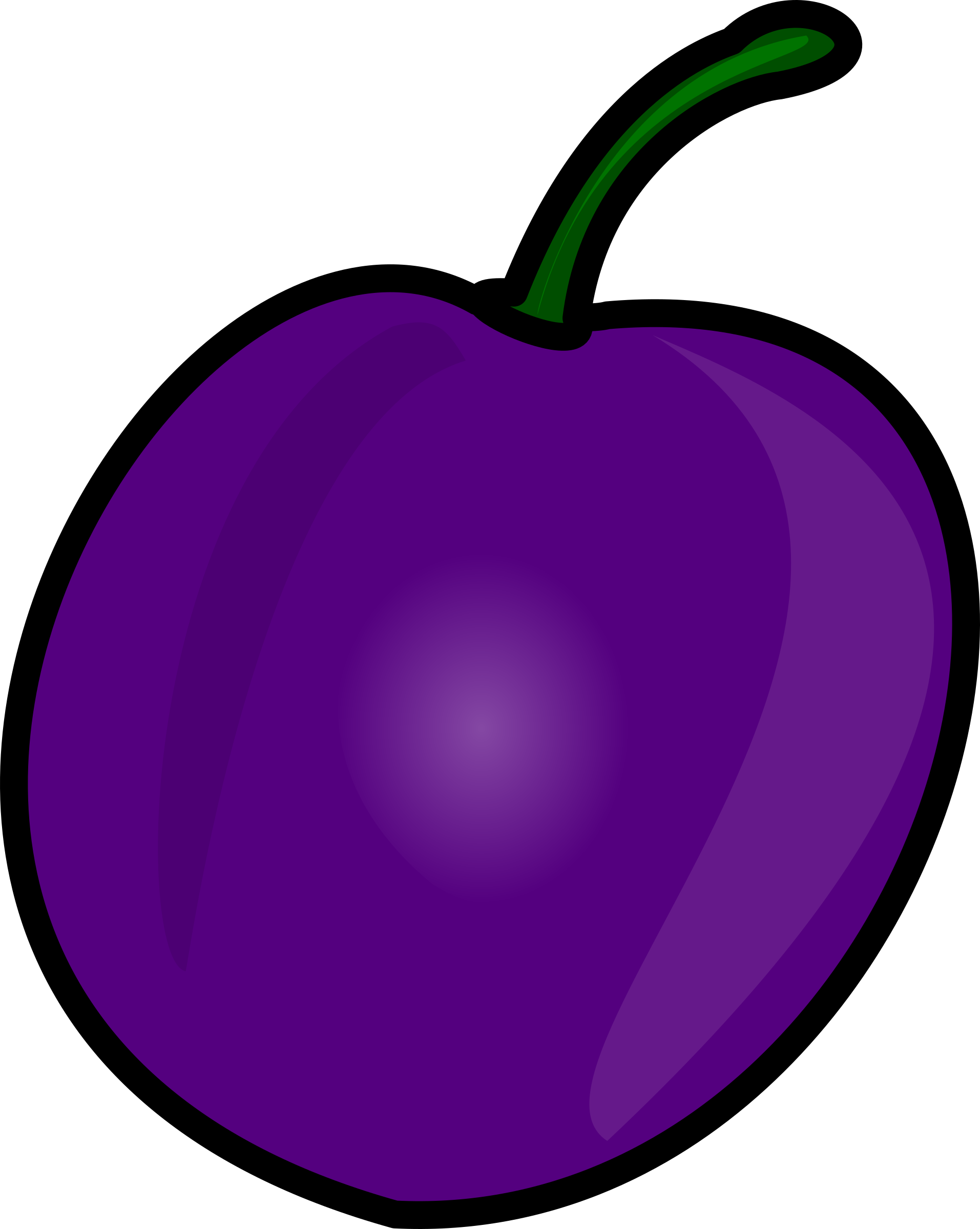 Peppers clipart single vegetable. Plum big image png