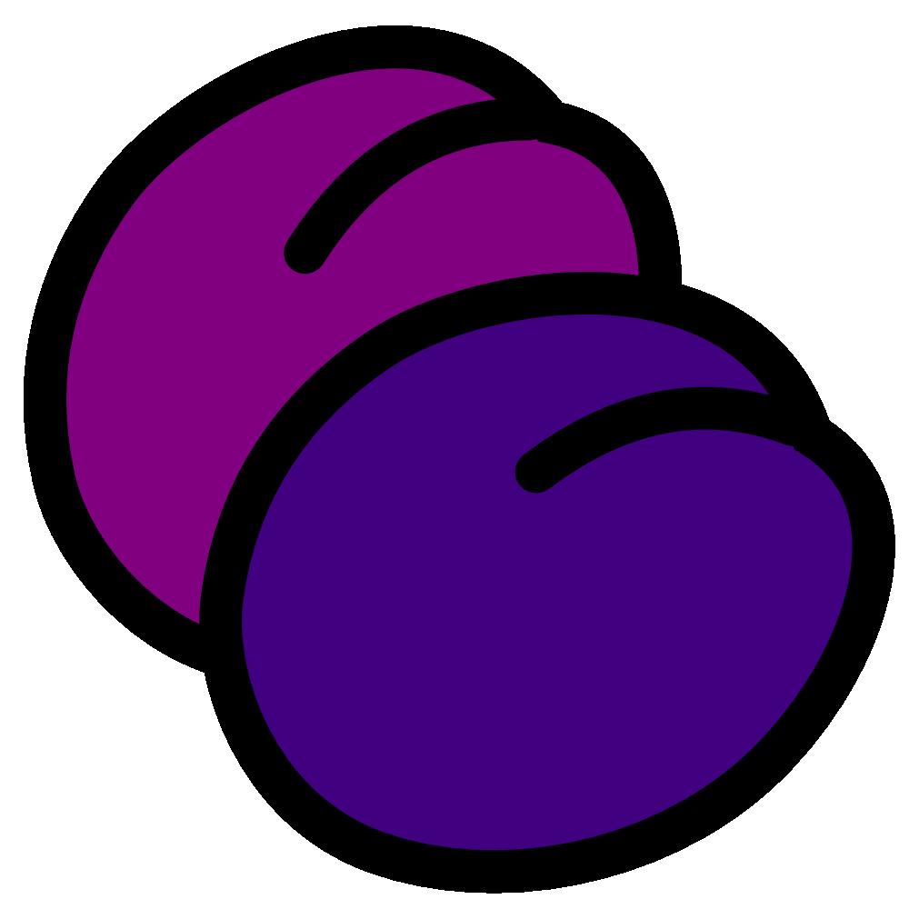 Plum clipart one. Onlinelabels clip art plums