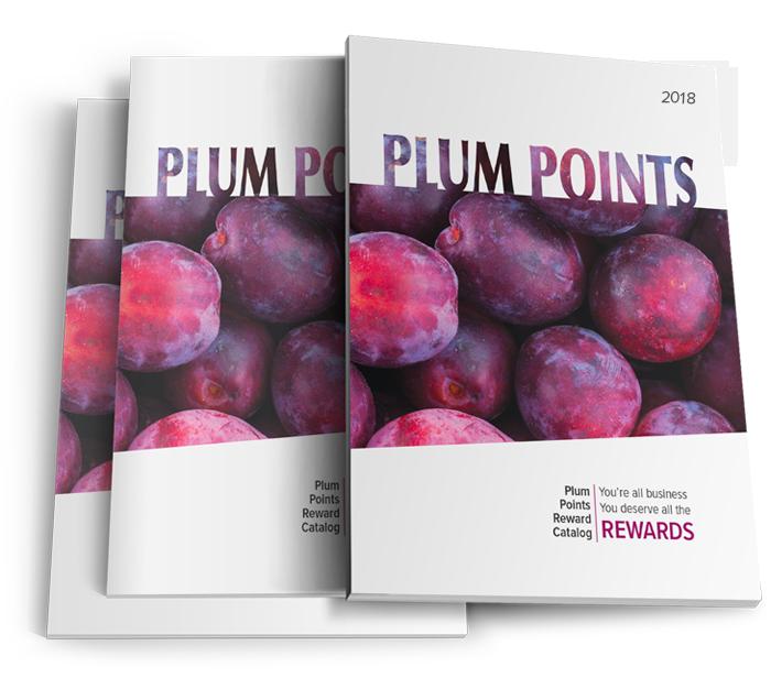 Points direct marketing rewards. Plum clipart one