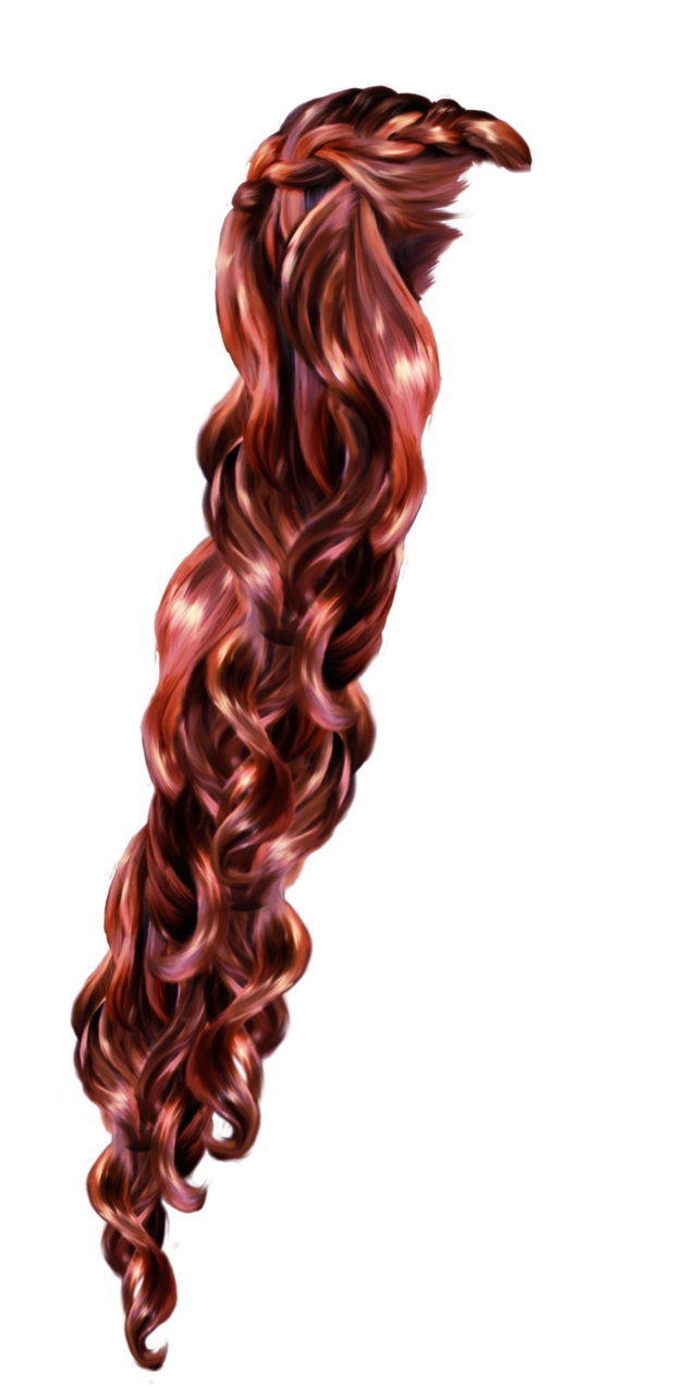 Rapunzel clipart rapunzel short hair.  plum by tigers