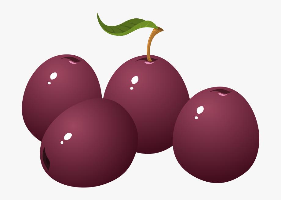 Plum clipart sugar plum. Png fruit clip art