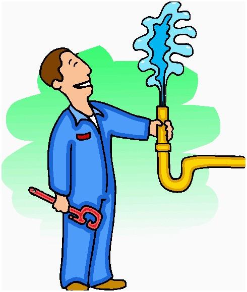 Plumber clipart. Luxury plumbing icon clip
