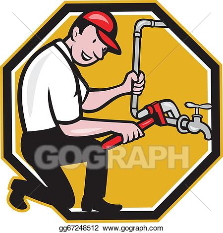 Clip art royalty free. Plumber clipart
