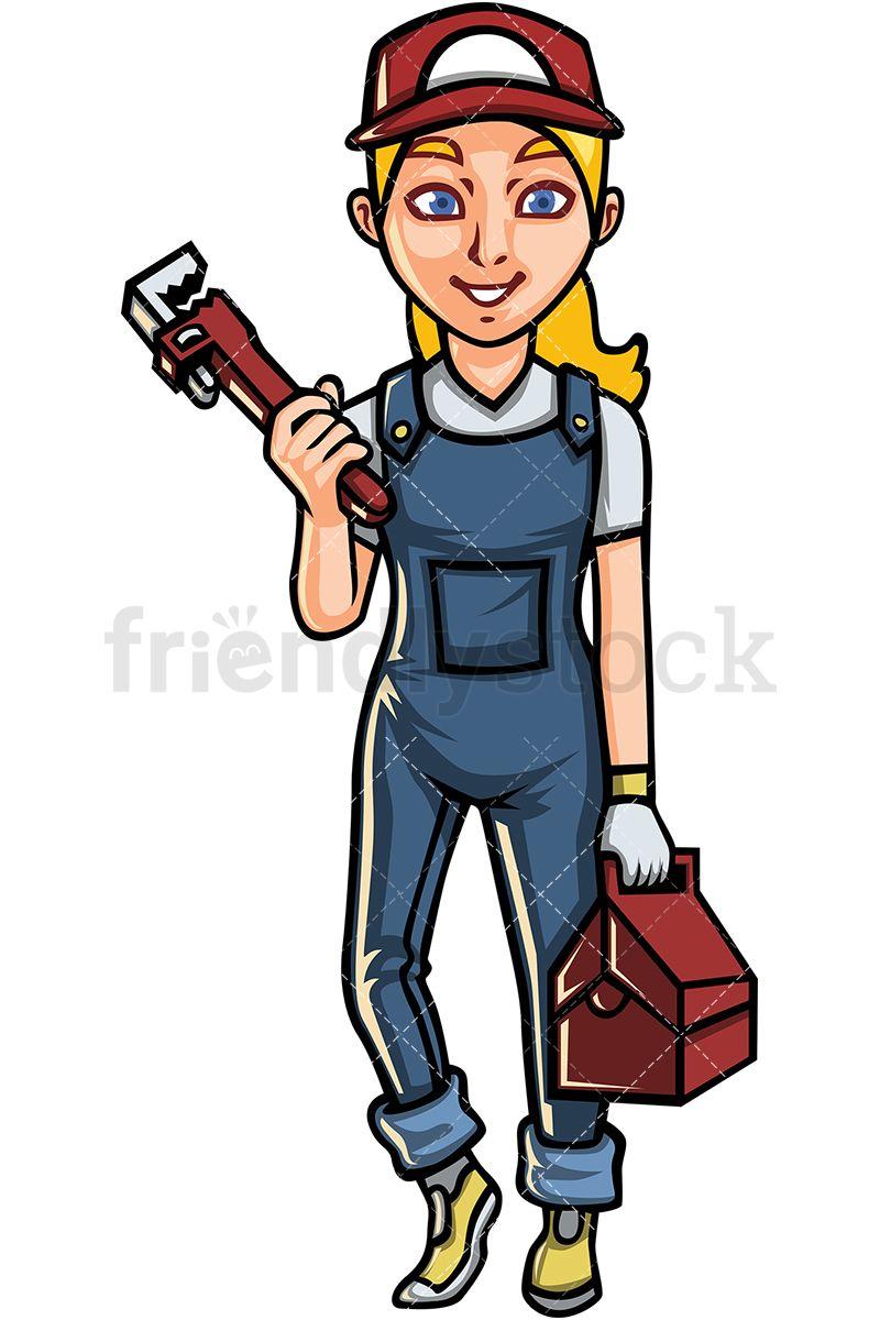 Plumber clipart clipart professional. Female clip arts art