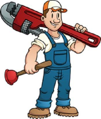Pin on plumbing service. Plumber clipart clipart professional