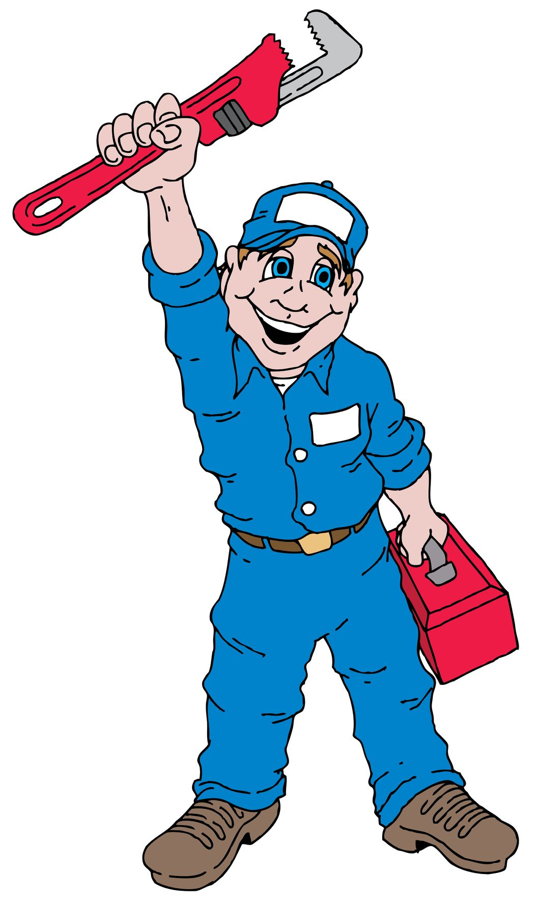 Plumber clipart plumbing heating. Free cliparts download clip