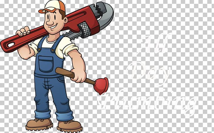 Hand tool pipe wrench. Plumber clipart plumbing heating