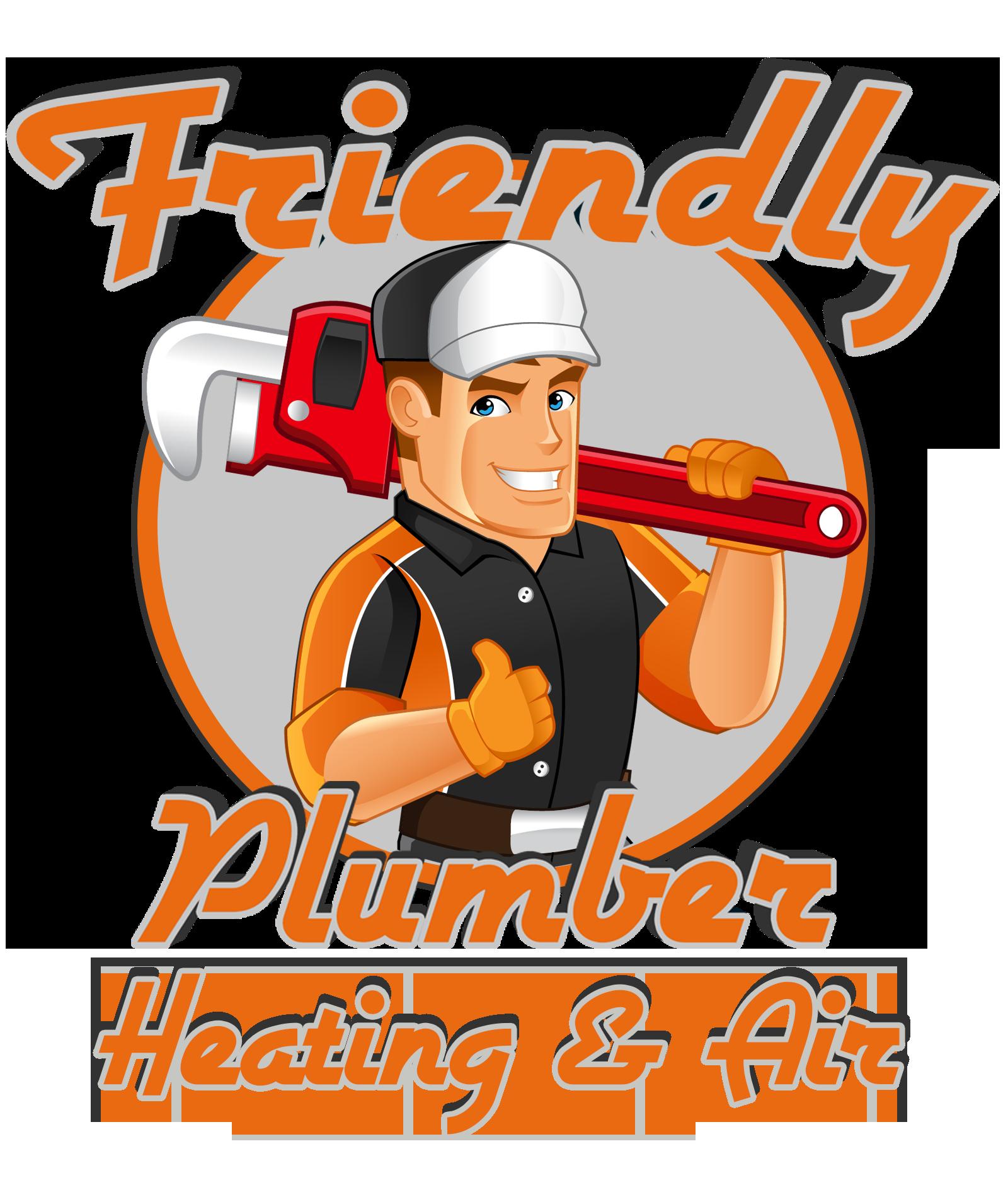 Plumber clipart plumbing heating. Friendly air better business