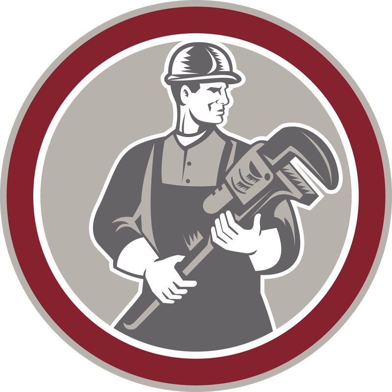 Plumber clipart retro. Services and rates urban