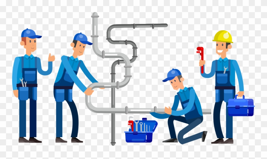 Plumber clipart worker. Employment png download