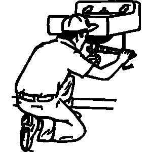 Plumbing clipart. Plumber panda free images