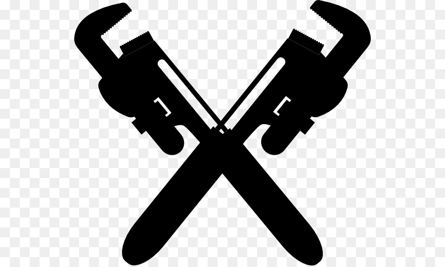 Pipe wrench clip art. Plumbing clipart