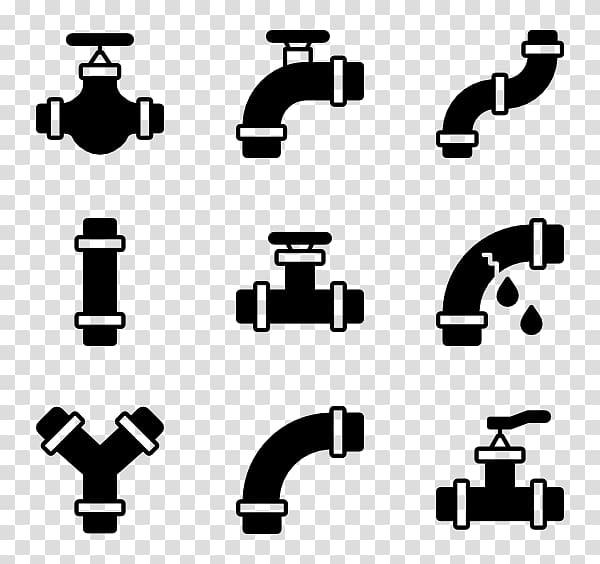 Computer icons plumber transparent. Plumbing clipart broken water pipe