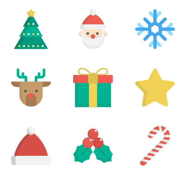 icon packs vector. Png christmas images