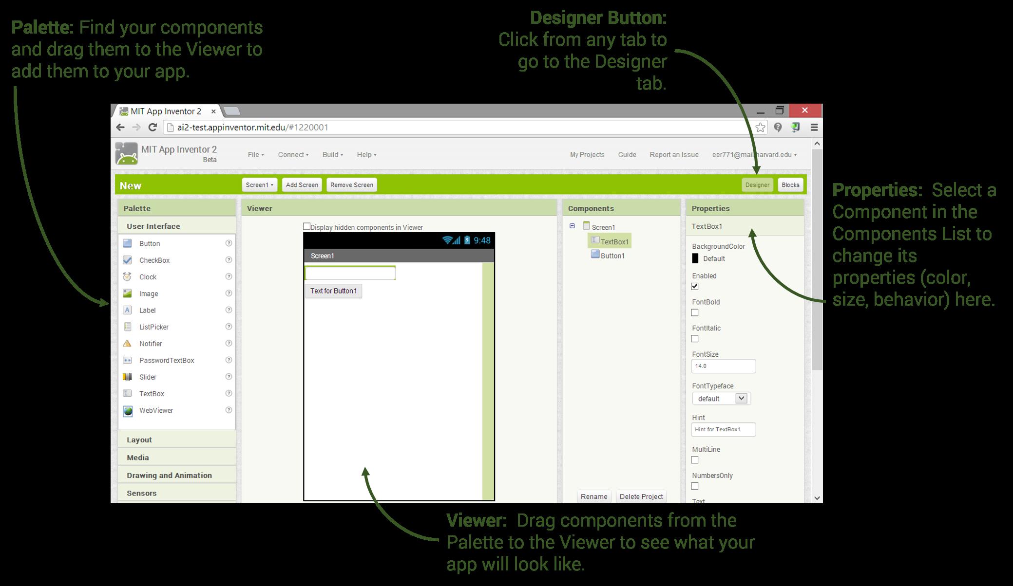Designer and blocks explore. Png editor windows