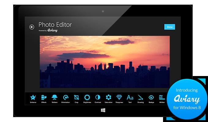 Aviary photo editing tools. Png editor windows