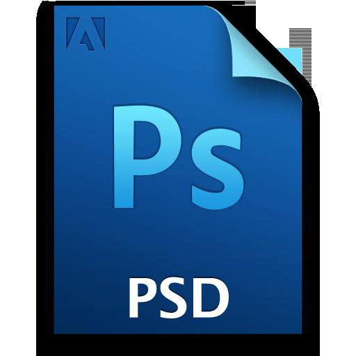 Adobe file cs set. Photoshop icon png
