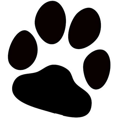 Png files for print. Dog paw transparent stickpng