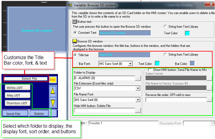 Sd card browser display. Png files not displaying