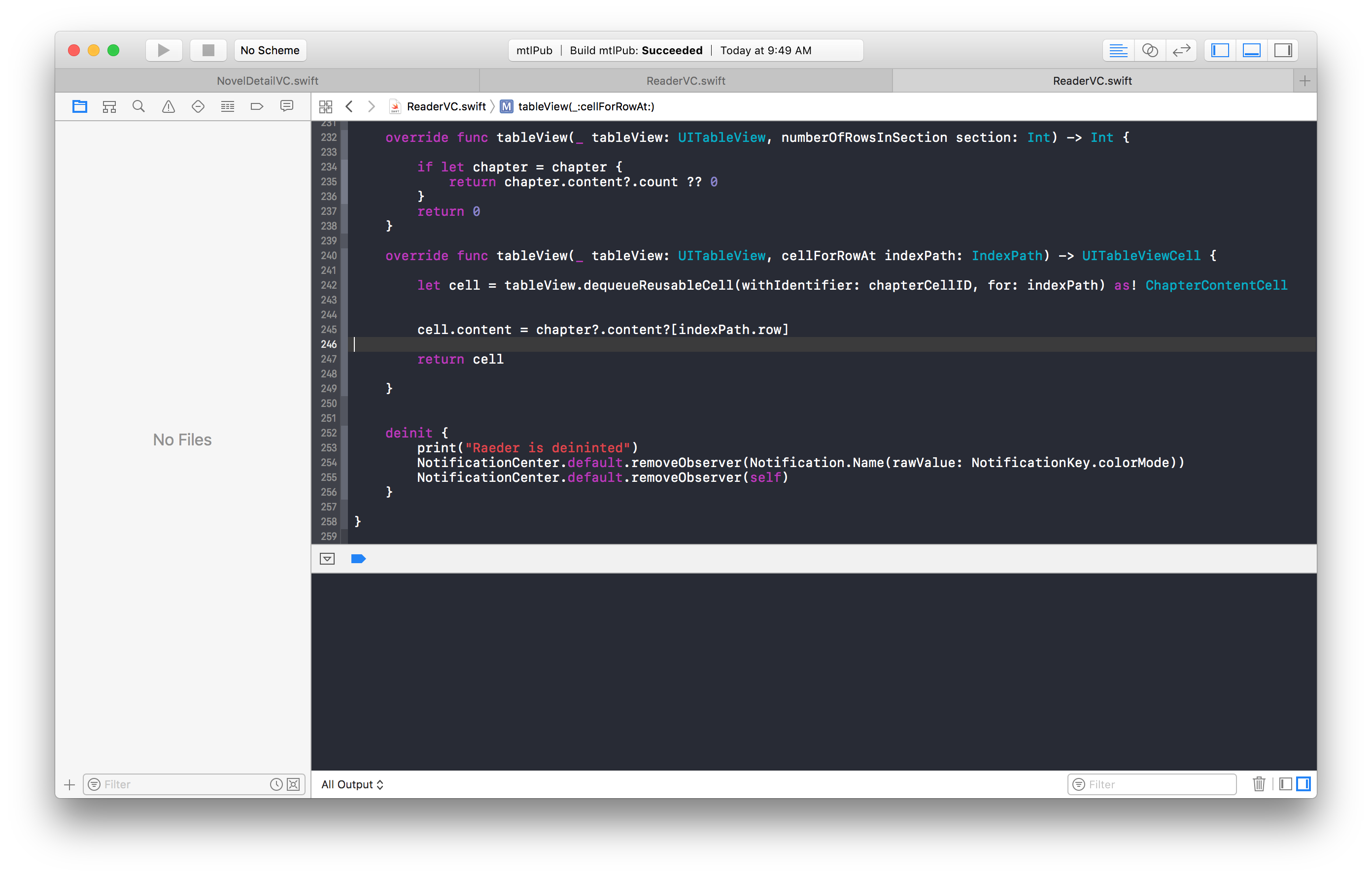Git showing in xcode. Png files not displaying