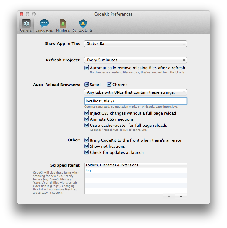 Codekit showing at localhost. Png files not displaying