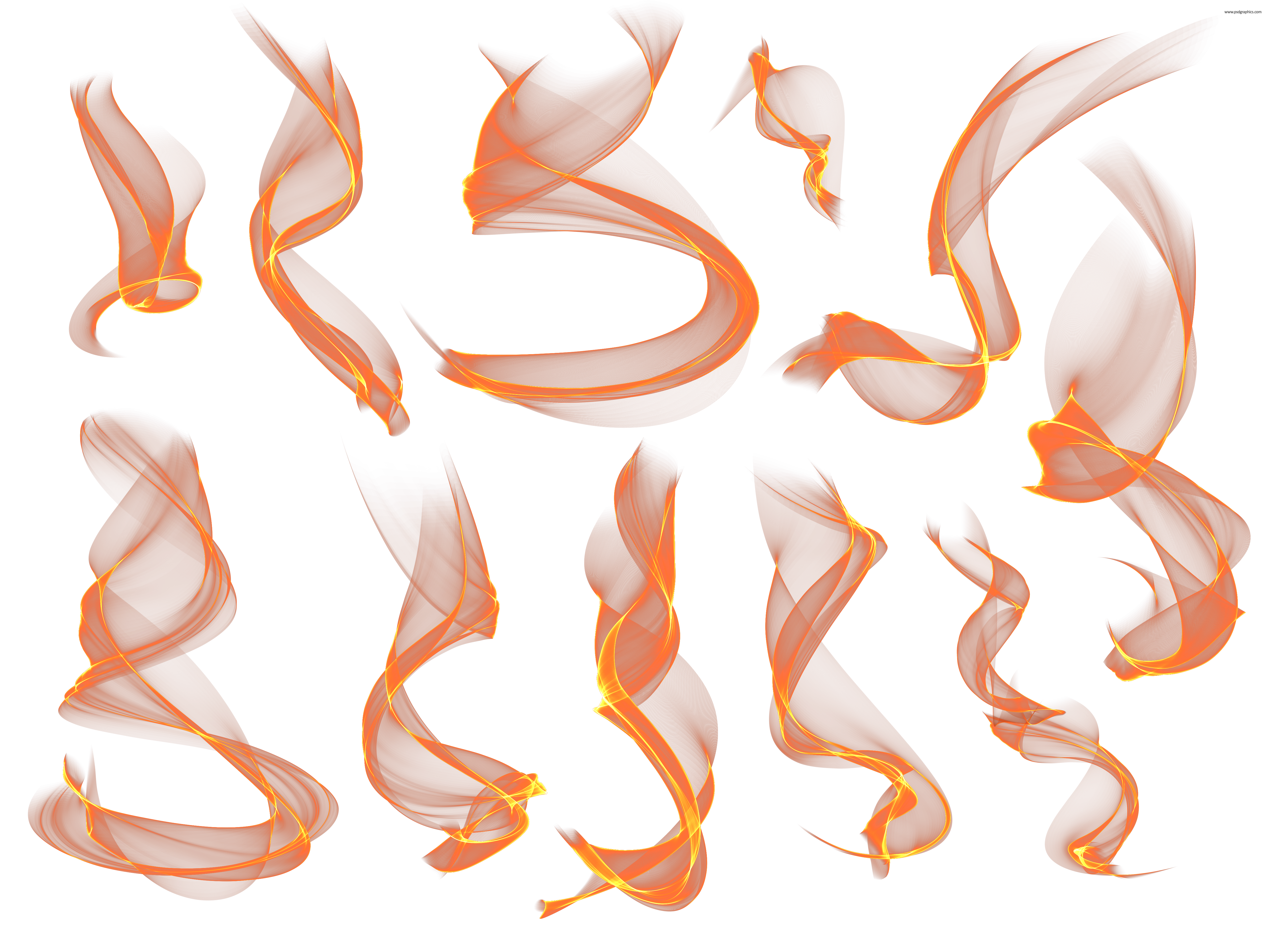 Png files for photoshop. Flame effects format psdgraphics