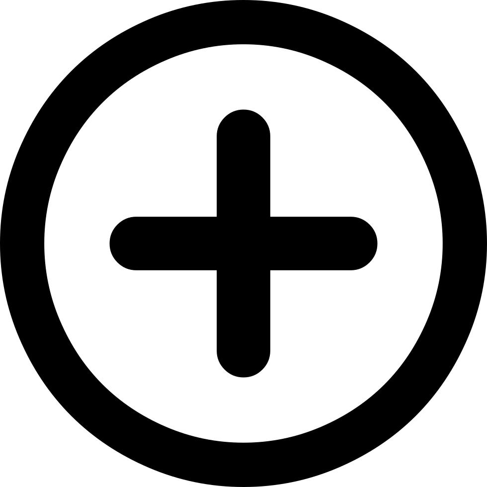 Png icon. Font circleplus svg free