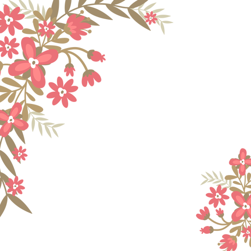 Png images for background. Red flowers transparent svg