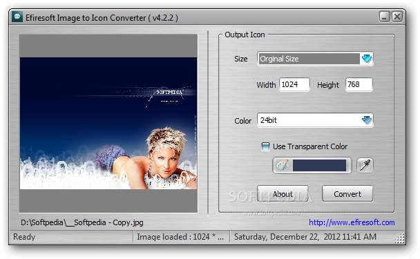 Png to icon converter. Download efiresoft image