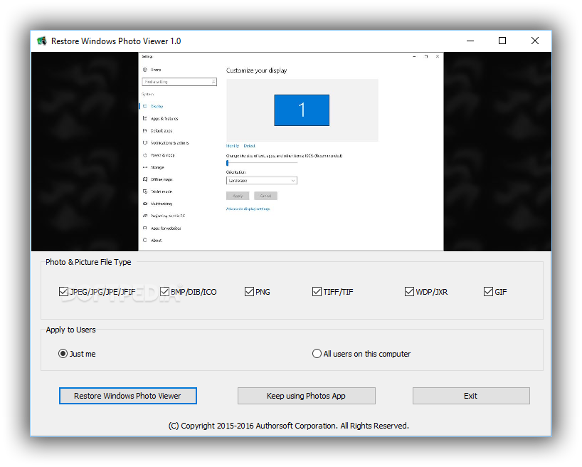 Png viewer windows 10. Download restore photo to