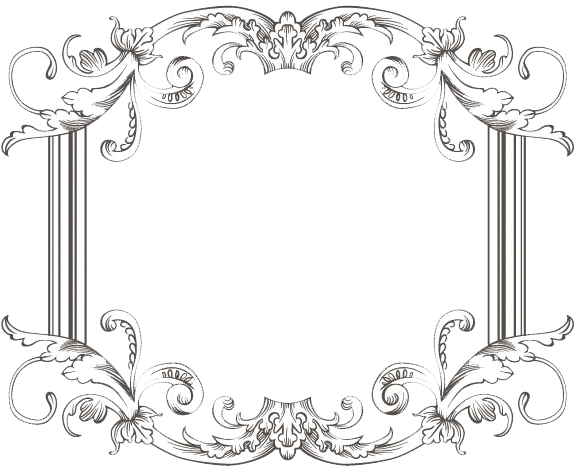 Png vintage frame. Three by kingoftheswingers on